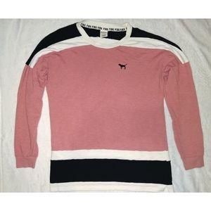 Victorias Secret Love Pink crew neck sweater